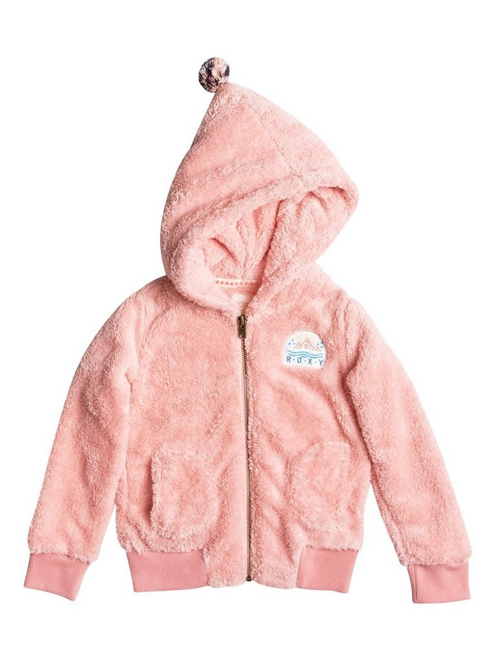 Roxy Plüsch-Fleece-Jacke »Hanging High« in Peach amber