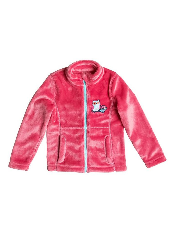 Roxy Plüsch-Fleece-Jacke »Igloo« in Paradise pink