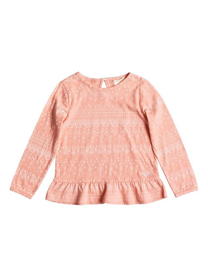Roxy Longsleeve »Ruby Dear« in Peach amber