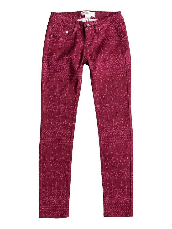 Roxy Slim Fit jean »Sea Horse« in Red plum