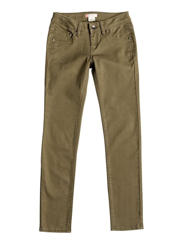 Roxy Slim Fit jean »Tracy'S Water« in Military olive