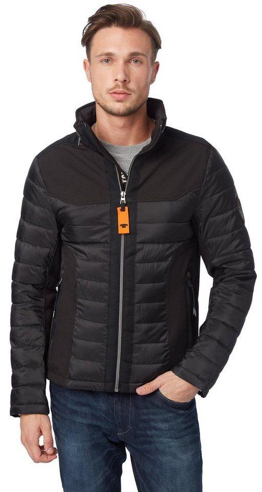 TOM TAILOR Jacke »sportive Softshell-Jacke« in black