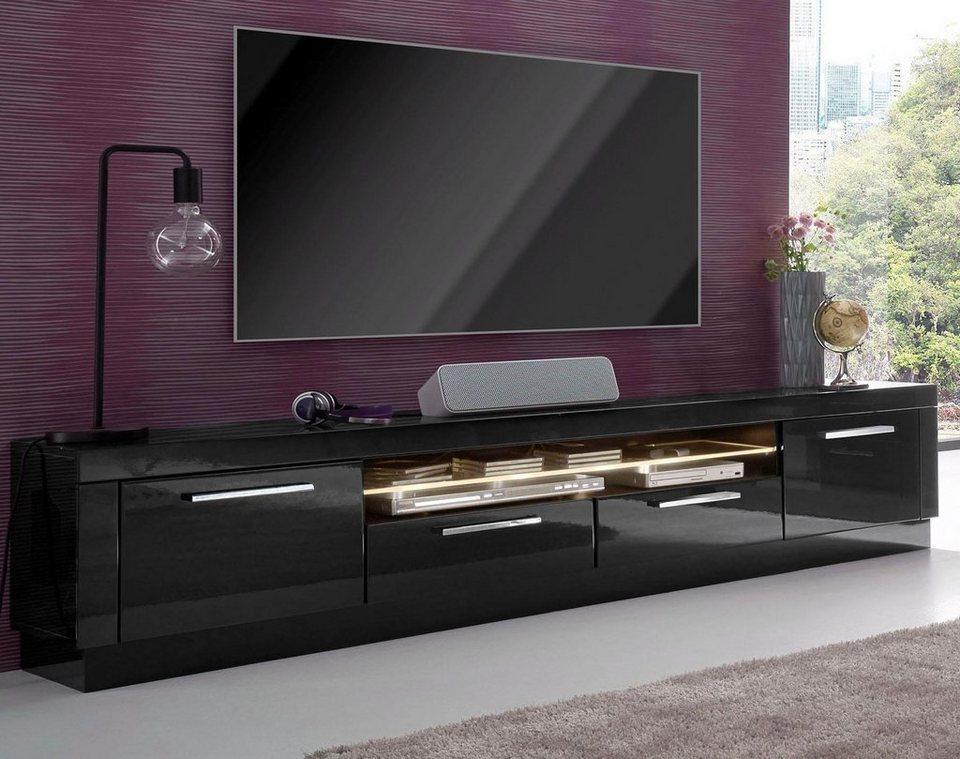 lowboard breite 185 cm online kaufen otto. Black Bedroom Furniture Sets. Home Design Ideas