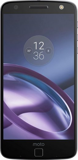 Lenovo Moto Z Smartphone mit Power Pack, 14 cm (5,5 Zoll) Display, LTE (4G), Android 6.0 (Marshmallow)