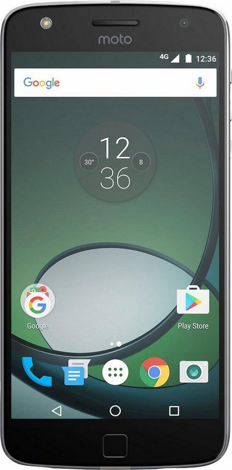 Lenovo Moto Z Play Smartphone, 13,97 cm (5,5 Zoll) Display, LTE (4G), Android 6.0 (Marshmallow) in schwarz