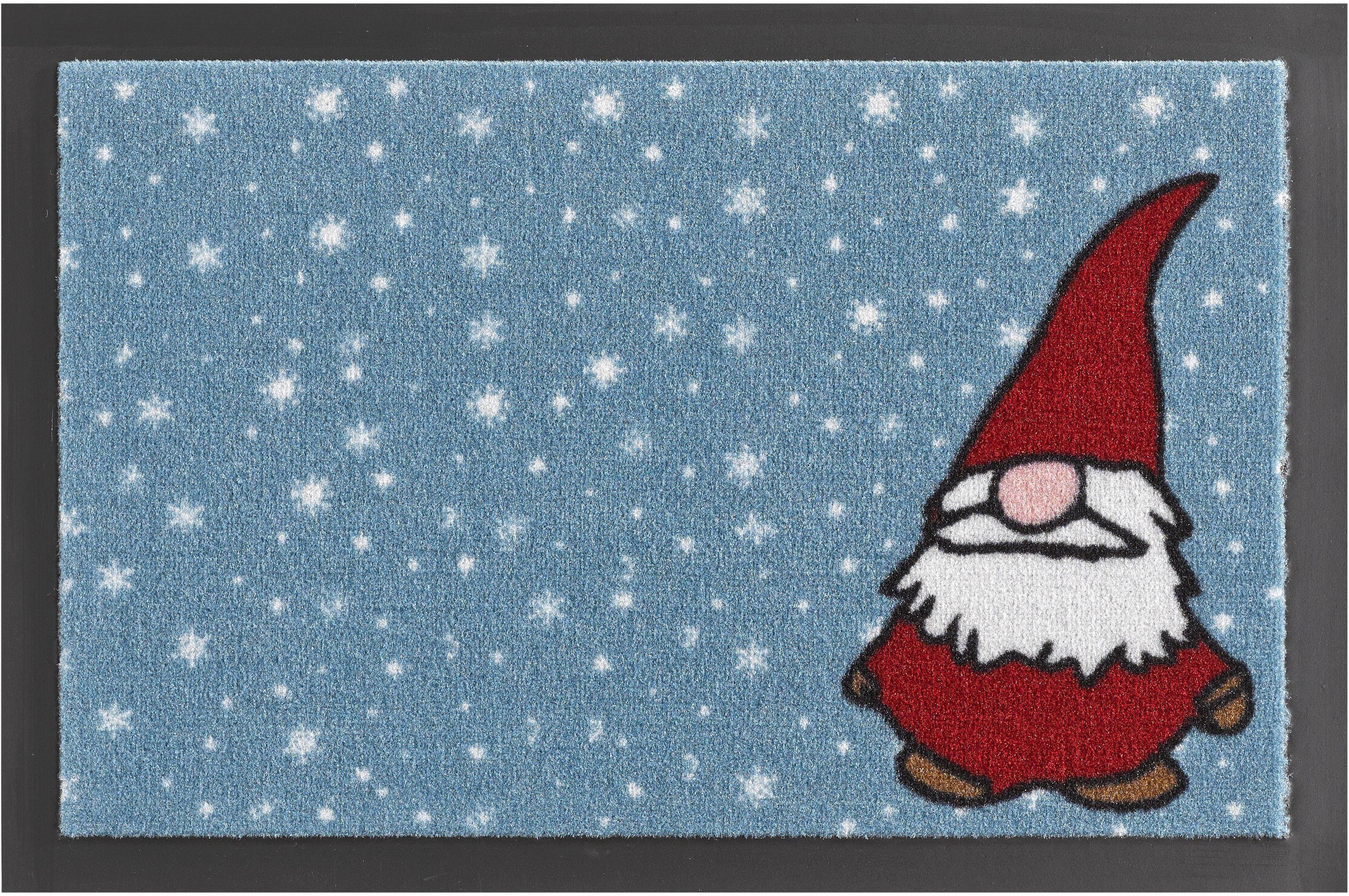 Fußmatte, Hanse Home, »Weihnachtswichtel«, rutschhemmend beschichtet, getuftet