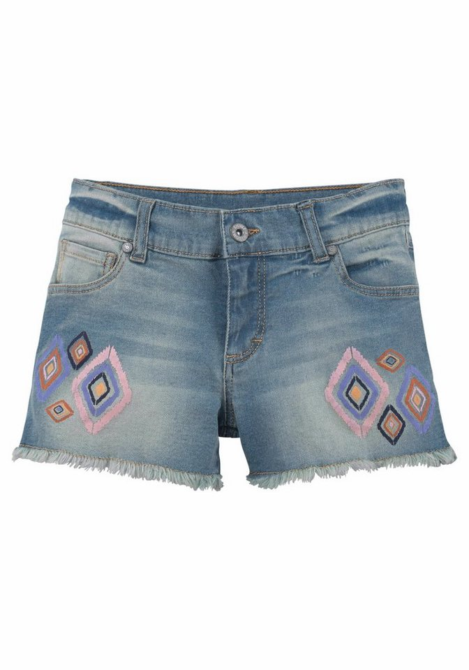 Arizona Jeansshorts in denim