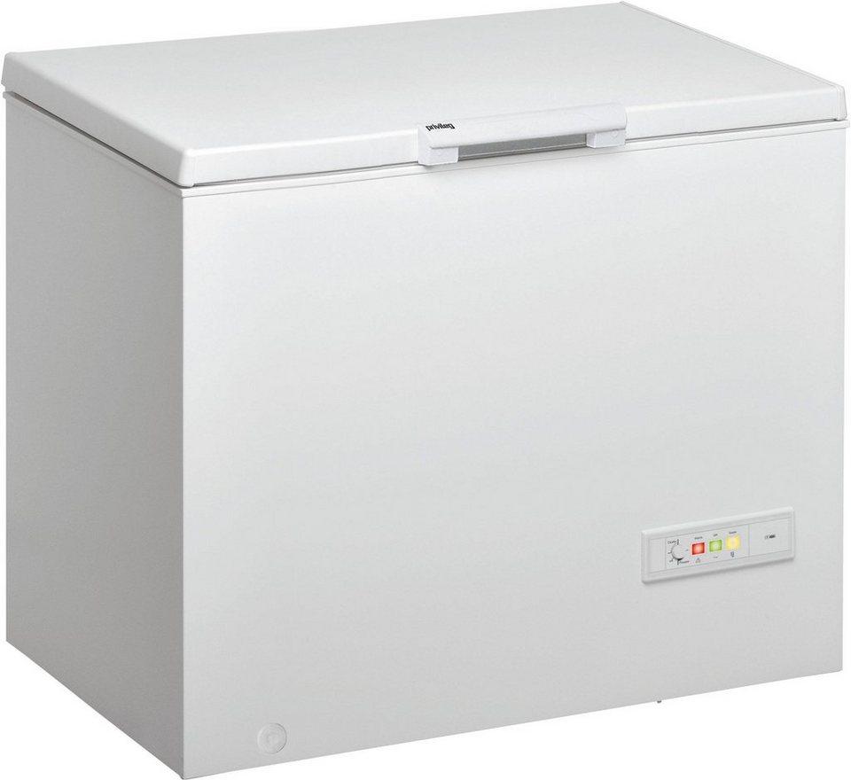 Privileg Gefriertruhe PFH 406 A++, Energieklasse A++, 101 cm breit in weiß