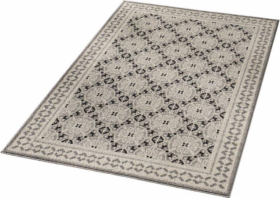 Teppich, Hanse Home, »Marbel«, gewebt in grau taupe