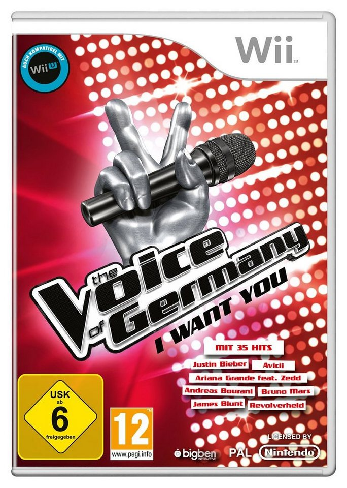 BIGBEN The Voice of Germany - I want you »(Wii)«