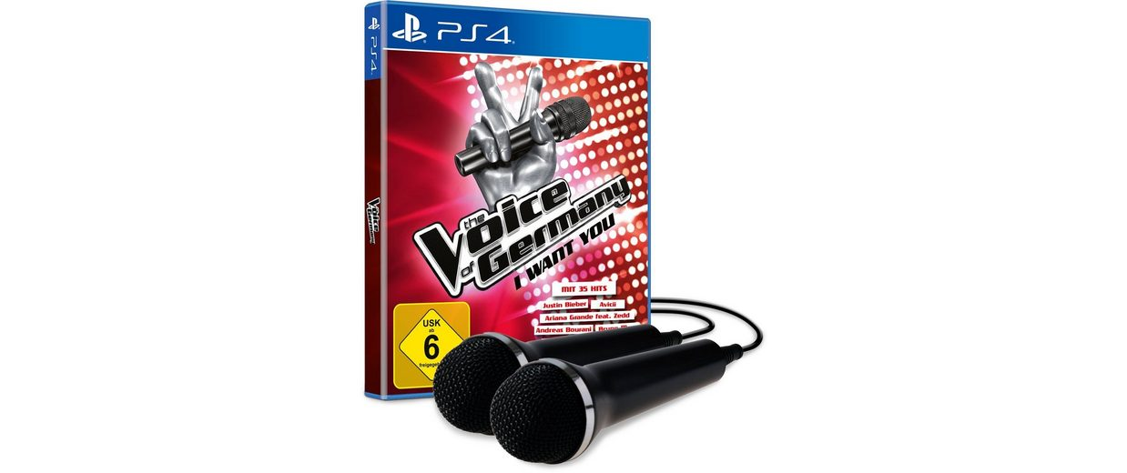 BIGBEN The Voice of Germany - I want you inkl. 2 Mikros »(PS4)«