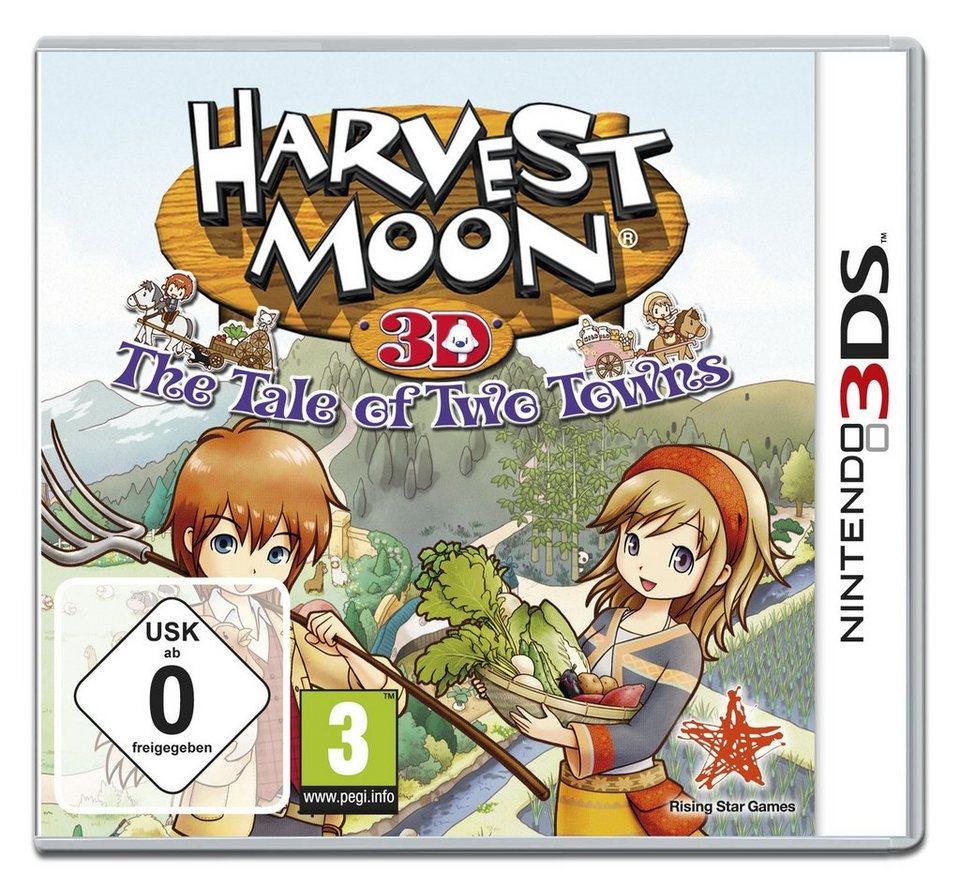 Koch Media Harvest Moon 3D: Geschichten zweier Städte »(3DS)«