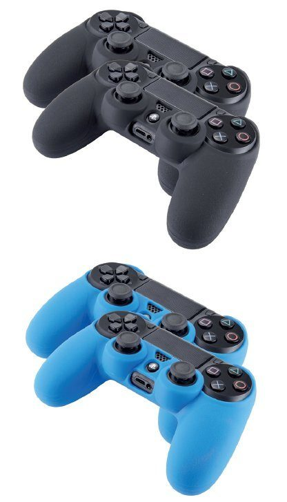 BIGBEN Silicon Glove PS42 (2 Schutzhüllen) »(PS4)«
