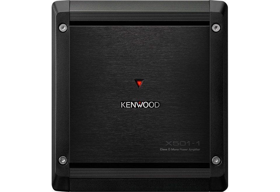 Kenwood Endstufe Mono »X5011« in schwarz