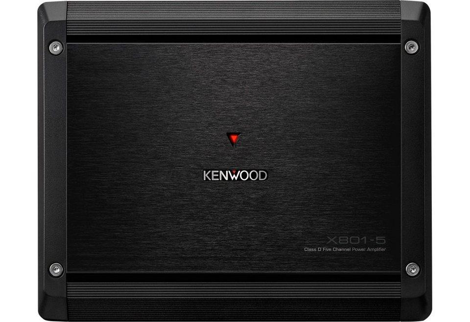 Kenwood Endstufe Fünf-Kanal »X8015« in schwarz