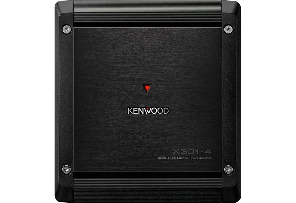 Kenwood Endstufe Vier-Kanal »X3014« in schwarz