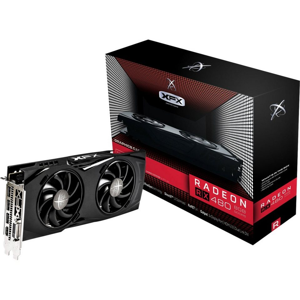 XFX Grafikkarte »Radeon RX 480 GTR«
