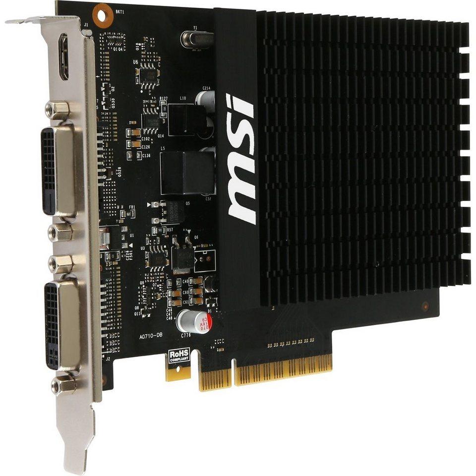 MSI Grafikkarte »GeForce GT 710 2GD3H H2D«