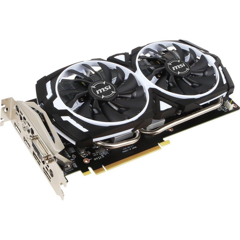MSI Grafikkarte »GeForce GTX 1060 ARMOR 3G OCV1«