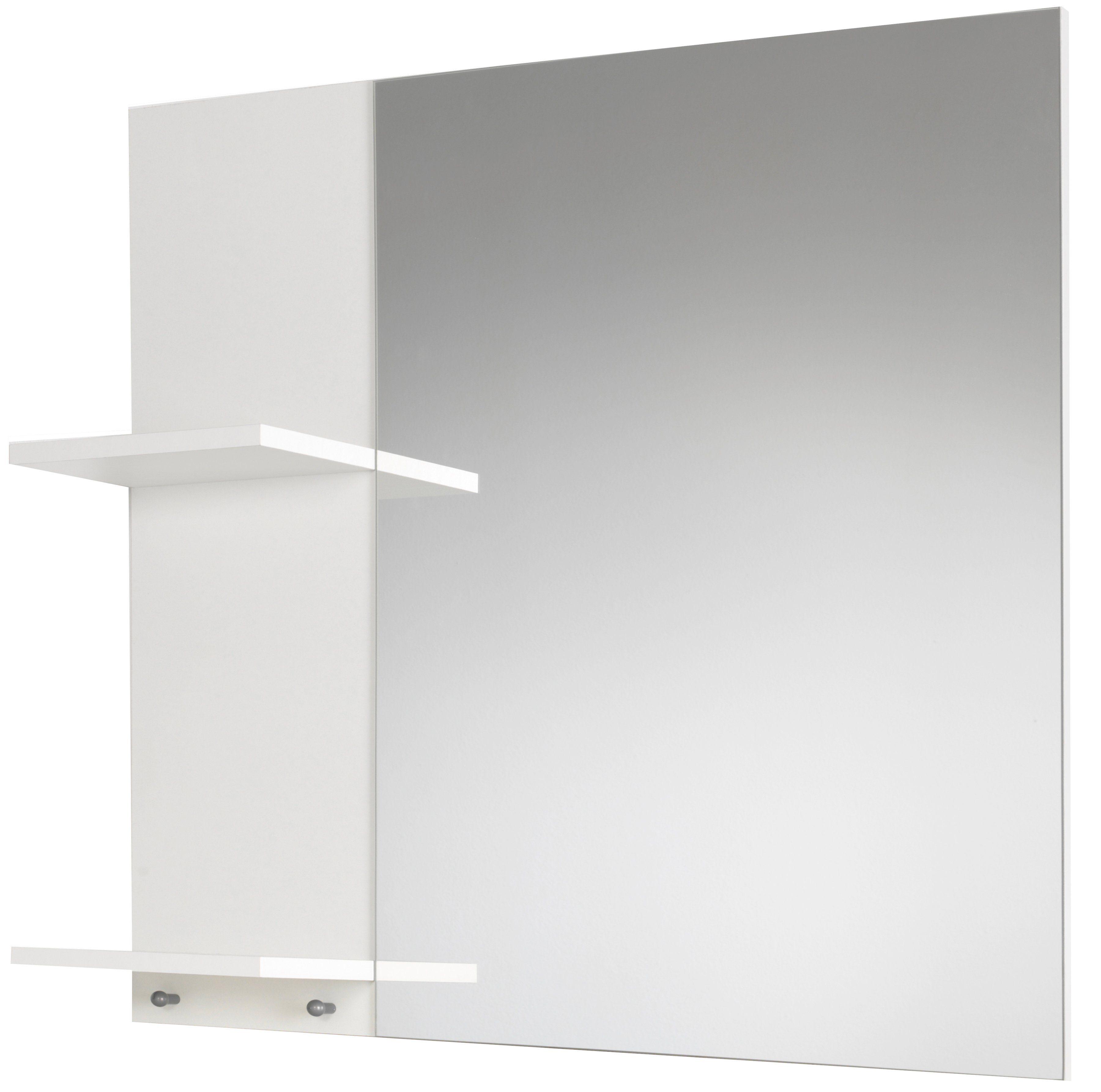 Spiegel / Badspiegel »Basic« Breite 70 cm, mit seitlichen Ablagen