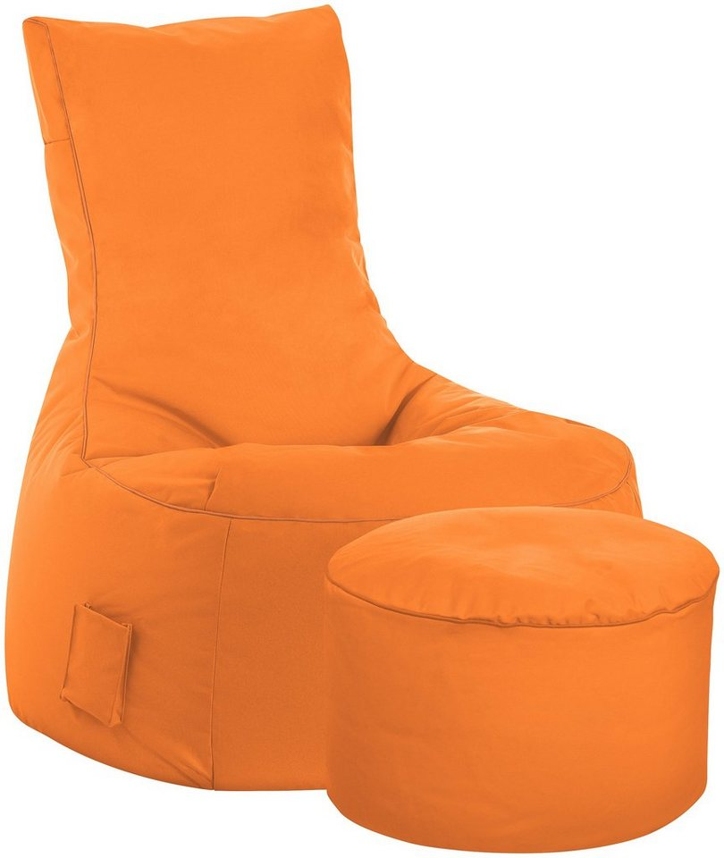 Sitzsack »SCUBA Swing «, 2er Set in orange