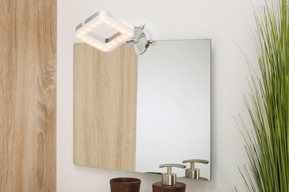 LED-Spiegelleuchte »Splasch« in weiß