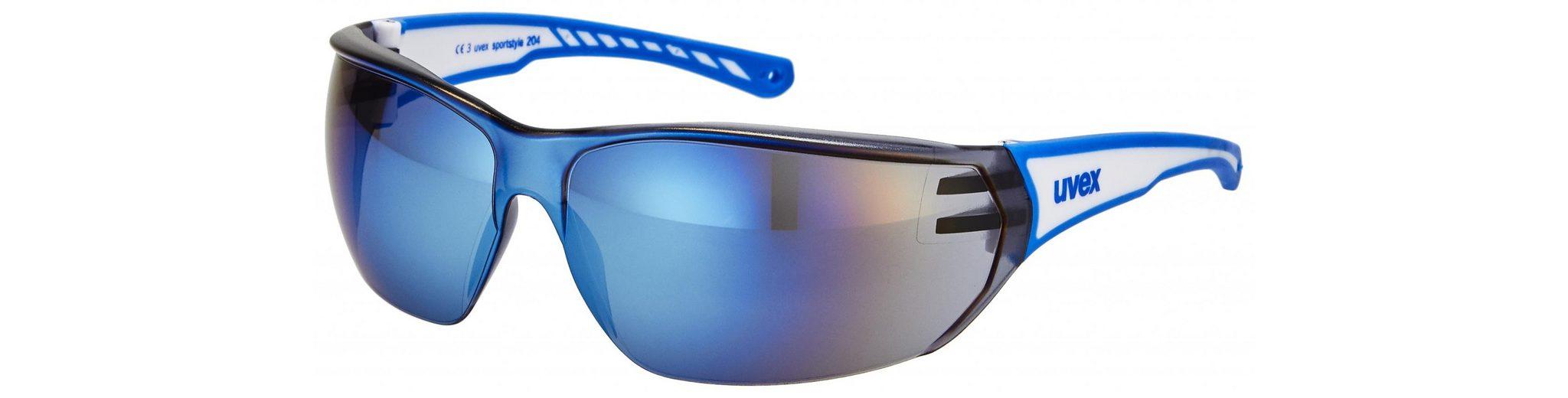 UVEX Radsportbrille »sportstyle 204 Brille«