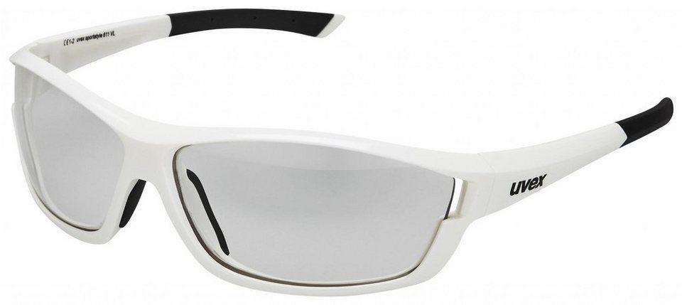 UVEX Radsportbrille »sportstyle 611 VL Brille« in weiß