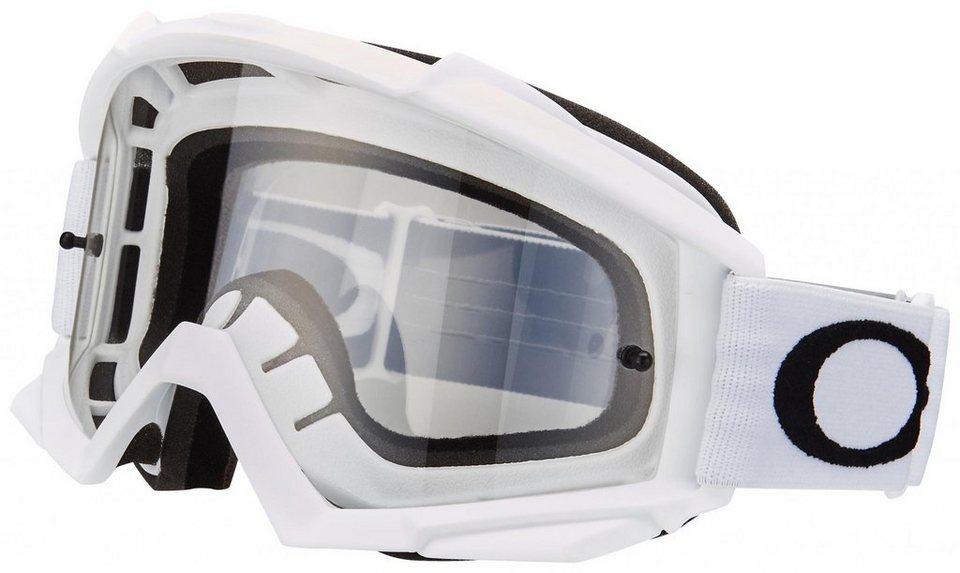 Oakley Radsportbrille »Proven MX« in weiß
