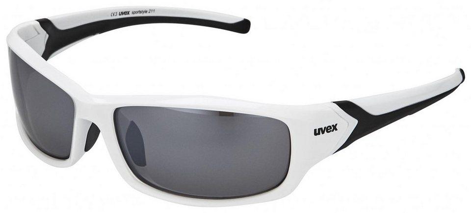 UVEX Radsportbrille »sportstyle 211 Brille« in weiß