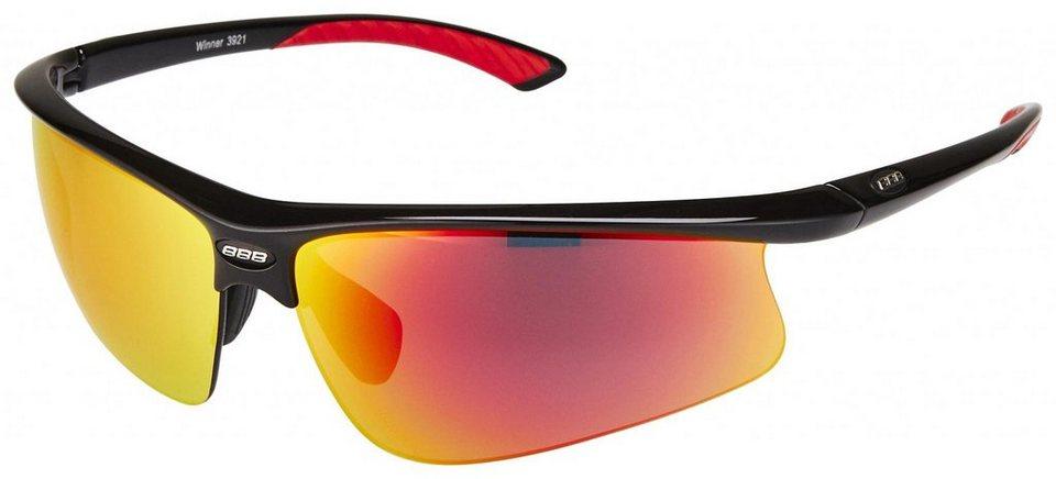 BBB Radsportbrille »Winner BSG-39 Sonnenbrille« in schwarz