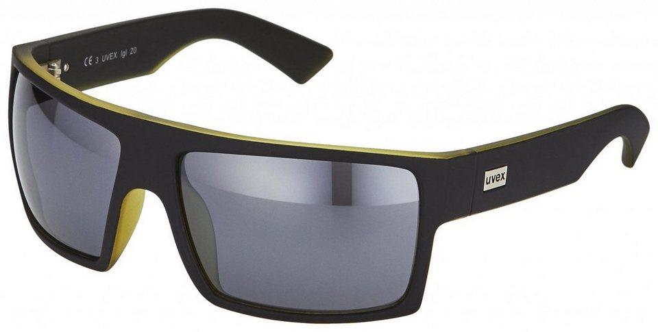 UVEX Radsportbrille »lgl 20 Brille« in schwarz
