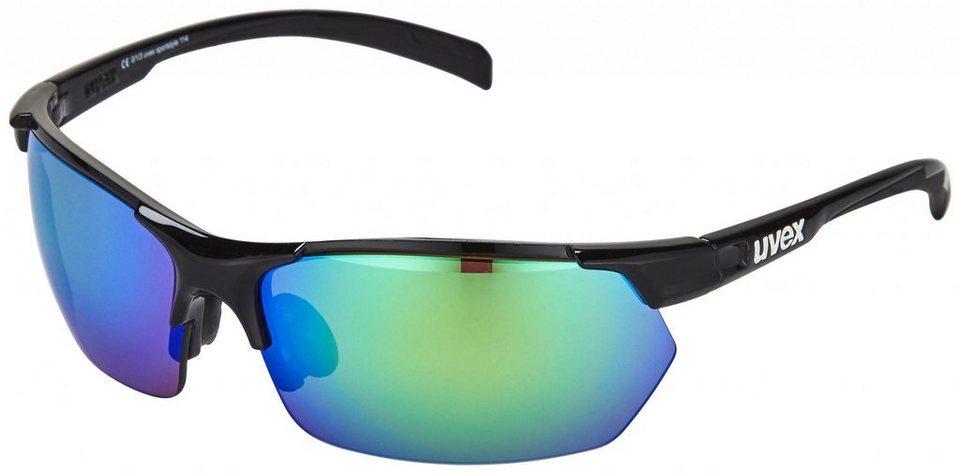 UVEX Radsportbrille »sportstyle 114 Brille« in schwarz