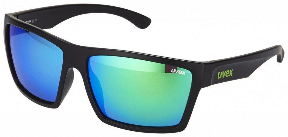 UVEX Radsportbrille »lgl 29 Brille« in schwarz