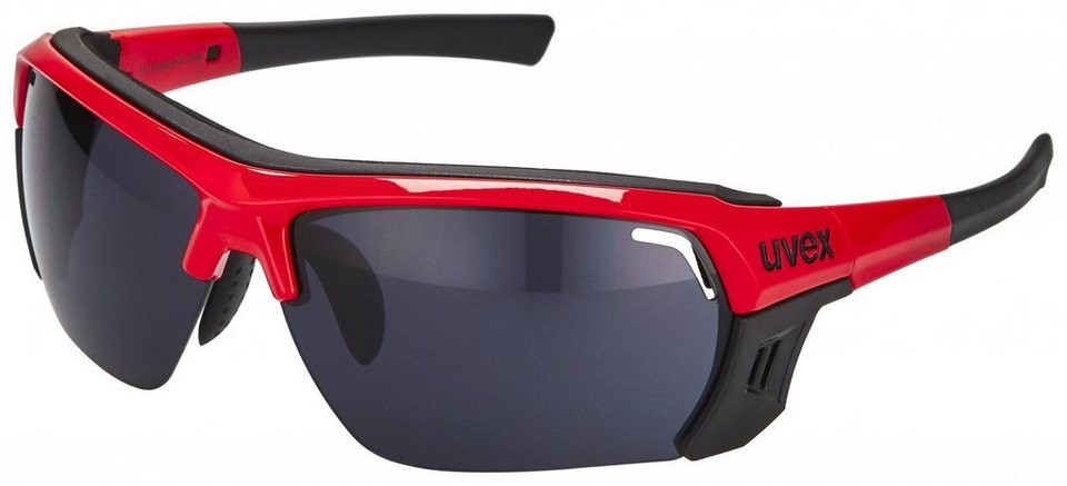UVEX Radsportbrille »sportstyle 303 ultra Brille« in schwarz