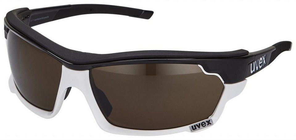 UVEX Radsportbrille »Sportstyle 304 pola IR Brille« in schwarz
