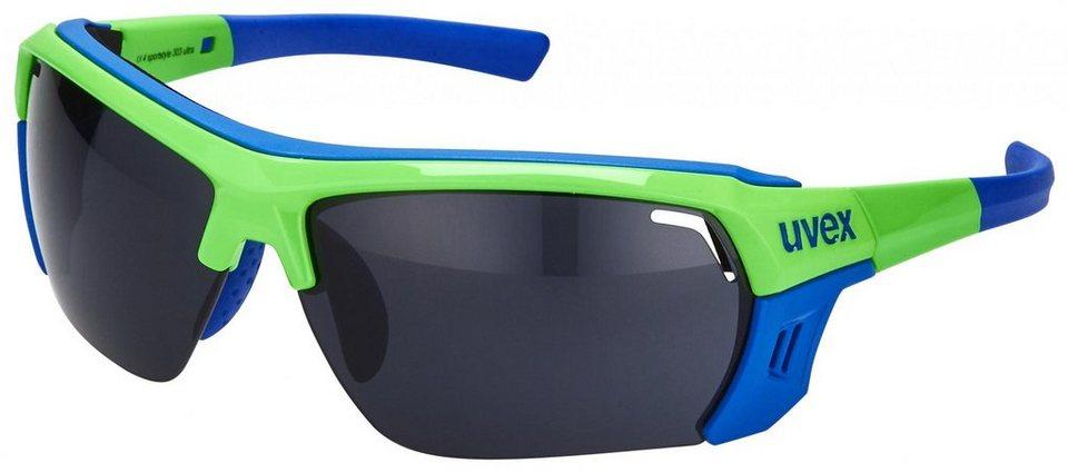 UVEX Radsportbrille »sportstyle 303 ultra Brille« in grün