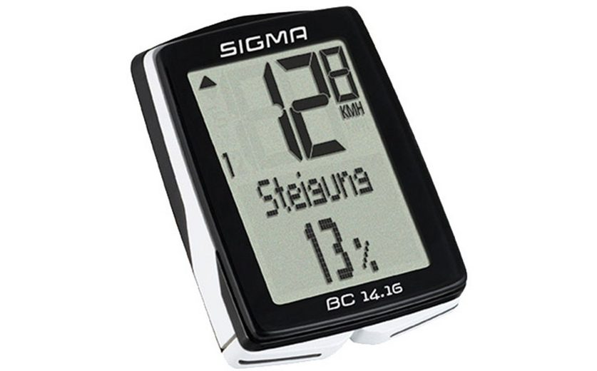 Sigma Sport Fahrradcomputer »BC 14.16 Fahrradcomputer kabelgebunden«