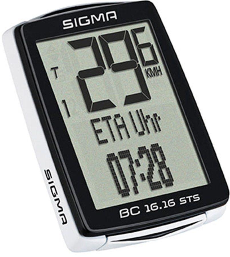Sigma Sport Fahrradcomputer »BC 16.16 STS Fahrradcomputer kabellos«