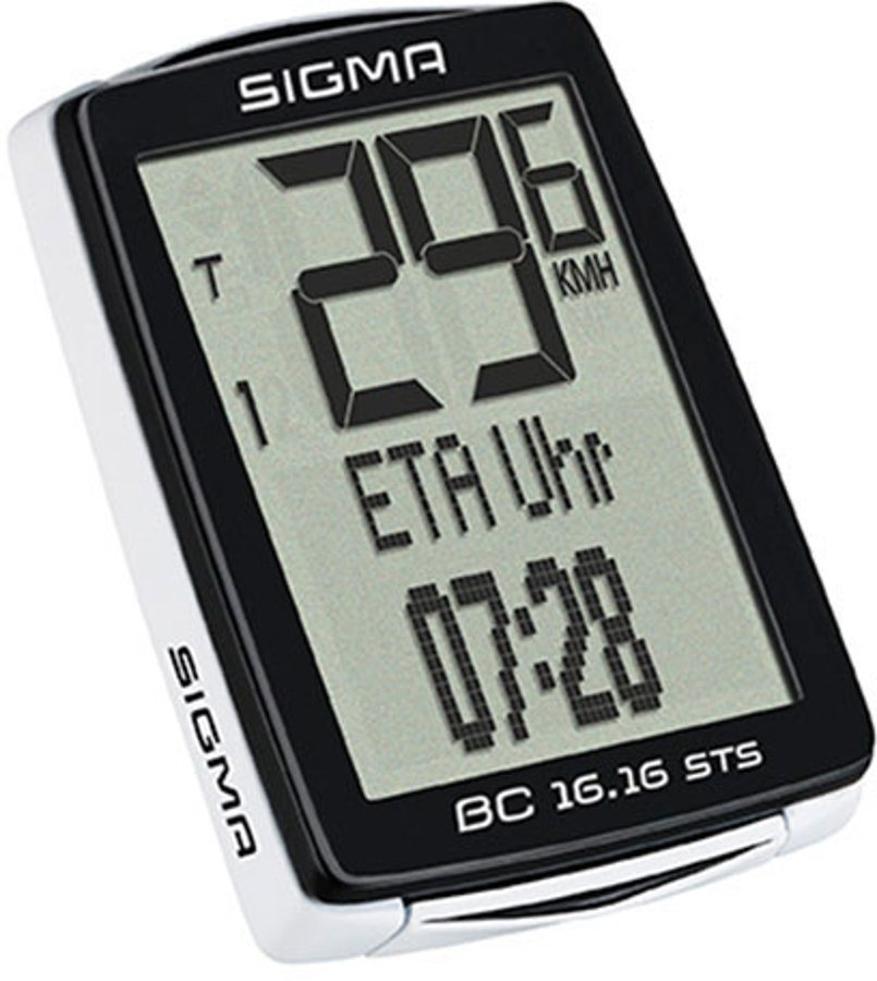 Sigma Sport Fahrradcomputer »BC 16.16 STS CAD Fahrradcomputer kabellos«