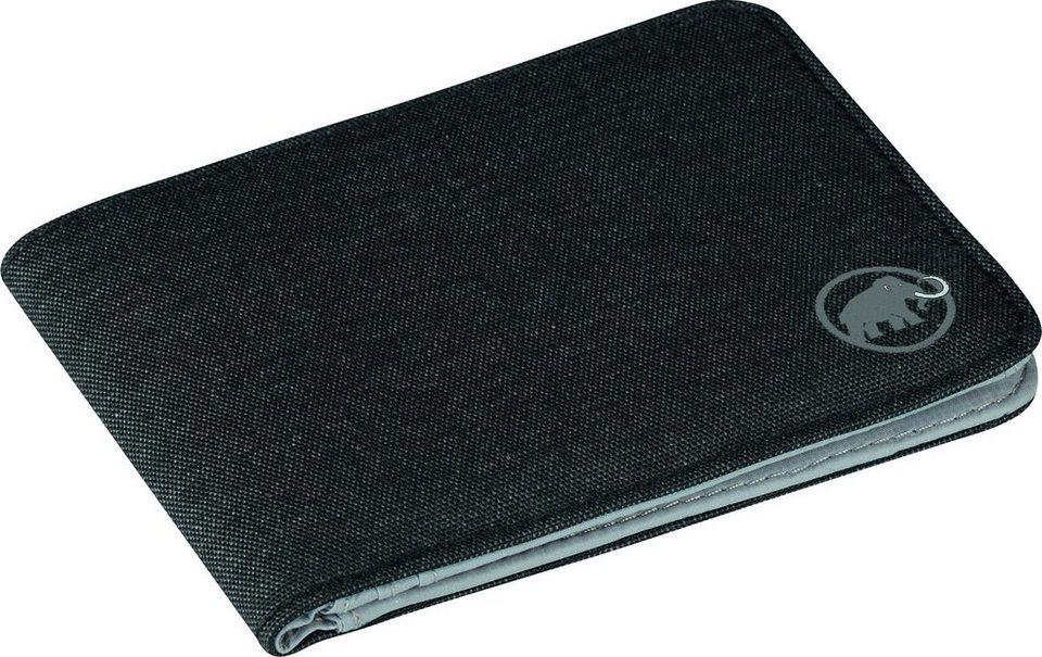 Mammut Wertsachenaufbewahrung »Flap Wallet Mélange« in schwarz