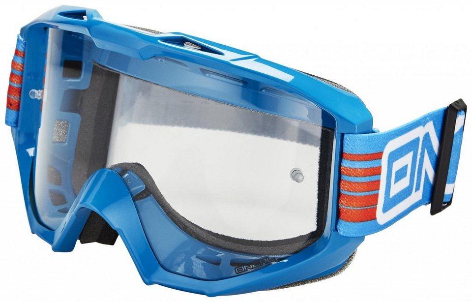 O'NEAL Radsportbrille »B1 RL Flat Goggle« in blau