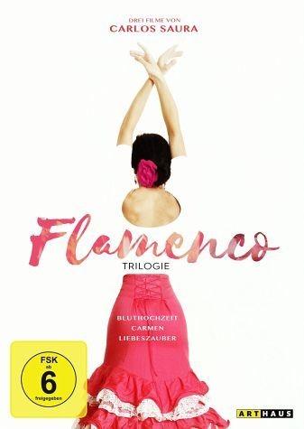 DVD »Carlos Saura - Flamenco-Trilogie (3 Discs, OmU)«