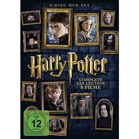 DVD »Harry Potter - Complete Collection DVD-Box«
