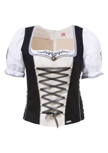 Spieth & Wensky Costume Corset With Glittering Brooch