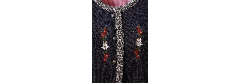Auslass Manchester Großer Verkauf Visa-Zahlung Zum Verkauf OS-Trachten Trachtenstrickjacke Damen mit dekorativer Blumenstickerei Spielraum-Websites Liefern Online PIo1aVPrMm