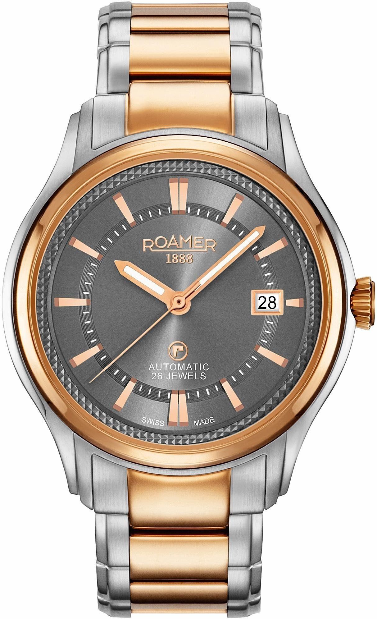 Roamer Automatikuhr »R-MATIC III, 532660 49 05 60«