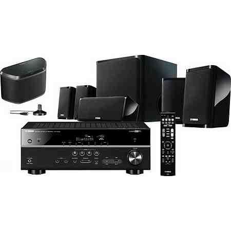 Yamaha YHT-4930 Heimkinosystem inkl. Multiroom-Speaker (UVP 269€) WX-030 (Hi-Res, WLAN, Bluetooth)