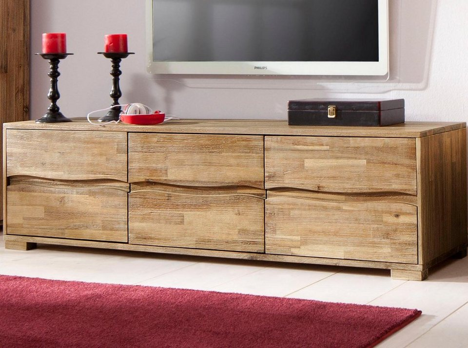 home affaire lowboard wave breite 160 cm kaufen otto. Black Bedroom Furniture Sets. Home Design Ideas