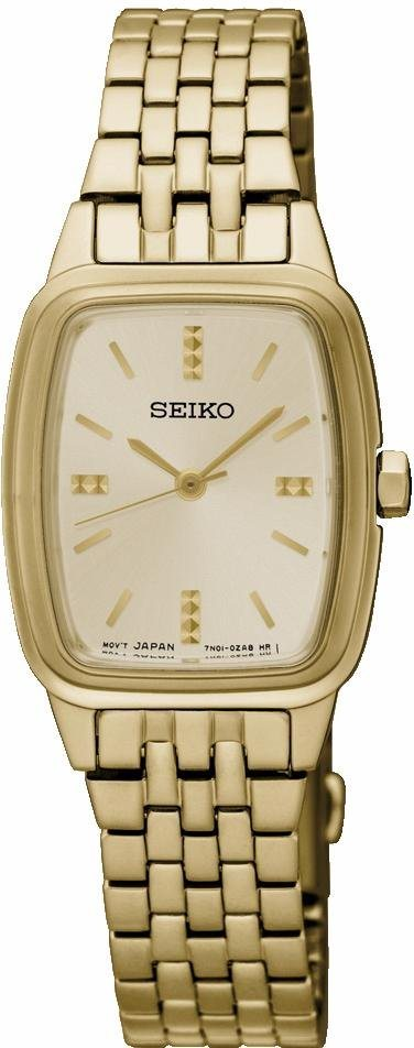 Seiko Quarzuhr »SRZ474P1« in goldfarben